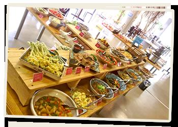 いろんな野菜を生かすために生まれたレストラン「Kitchen Boo」